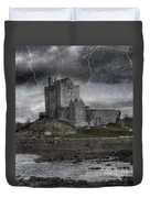 Vampire Castle Duvet Cover by Juli Scalzi