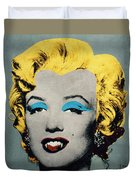 Vampire Marilyn Duvet Cover