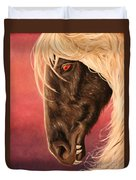 Vampire's Steed Duvet Cover