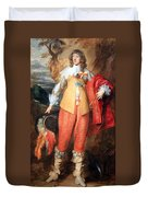 Van Dyck's Henri II De Lorraine Duvet Cover