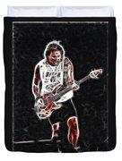 Van Halen-93-mike-gc23-fractal Duvet Cover