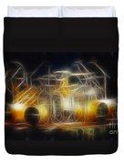 Van Halen-ou812-alex-f24a-fractal Duvet Cover