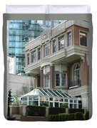Vancouver Architectural Heritage Duvet Cover