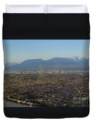 Vancouver At A Glance Duvet Cover