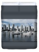 Vancouver Harbour  Duvet Cover