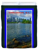 Vancouver IIi Duvet Cover