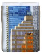 Vancouver Reflections No 1 Duvet Cover