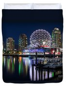 Vancouver Telus World Of Science - By Sabine Edrissi Duvet Cover