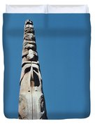 Vancouver Totem By Jrr Duvet Cover