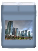 Vancouver Waterfront Duvet Cover