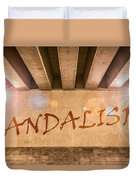 Vandalism Duvet Cover