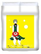 Vanguard Girl Duvet Cover