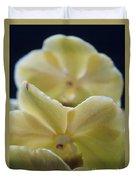 Vanilla Orchid Duvet Cover