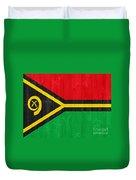 Vanuatu Flag Duvet Cover