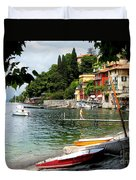Varenna.lake Como Duvet Cover