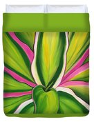 Variegated Delight Painting Duvet Cover