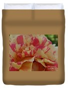 Variegated Rose Duvet Cover