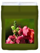 Variegated Snapdragon Duvet Cover