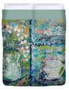 Vase And Demitasse Duvet Cover