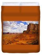 Vast Desert - Monument Valley - Arizona Duvet Cover