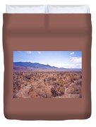 Vast Desolate And Silent - Lyon Nevada Duvet Cover