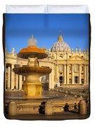 Vatican Morning Duvet Cover