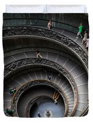 Vatican Spiral Staircase Duvet Cover