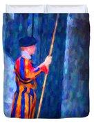 Vatican Swiss Guard Duvet Cover