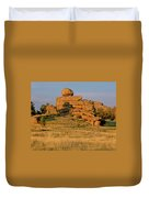 Vedauwoo Rocks Sunset Wyoming Duvet Cover