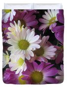 Vegas Butterfly Garden Flowers Colorful Romantic Interior Decorations Duvet Cover