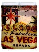 Vegas Destructed Duvet Cover