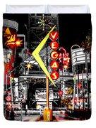 Vegas Nights Duvet Cover