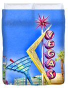 Vegas Street Art Duvet Cover