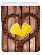 Vegetal Hearts Duvet Cover
