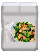 Veggie Medley Duvet Cover by Andee Design