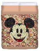 Veggie Mickey Mouse Duvet Cover