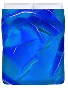 Veil Of Blue Duvet Cover