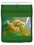 Veil On  Narcissus Duvet Cover