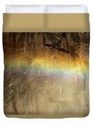Veiled By A Rainbow Duvet Cover