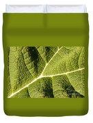 Veins Of A Leaf Duvet Cover