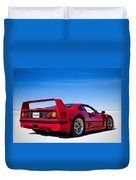 Veloce Equals Speed Duvet Cover