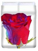 Velvet Rose Bud 2 Duvet Cover