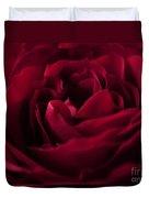 Velvet Rose Mirrored Edge Duvet Cover