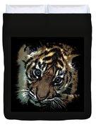 Velvet Tiger Cub Duvet Cover