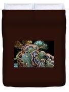 Velvet Wild Mushrooms  Duvet Cover