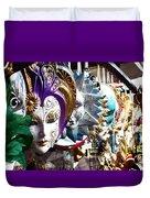 Venetian Masks 1 Duvet Cover