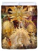 Venetian Masks 2 Duvet Cover
