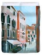Venetian Street Duvet Cover