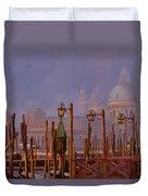 Venezia E La Nebbia Duvet Cover