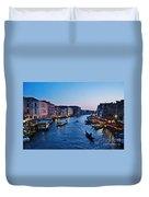 Venezia - Il Gran Canale Duvet Cover